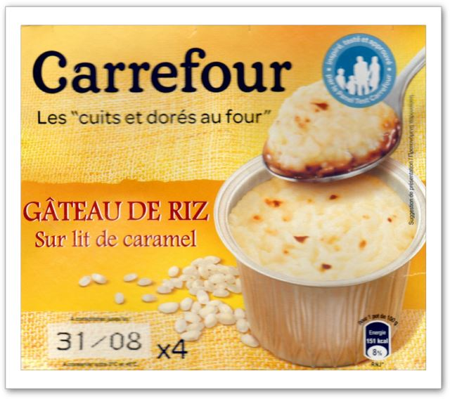 Gateau au yaourt carrefour